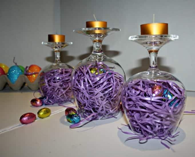 Birds Nest Easter Centerpiece
