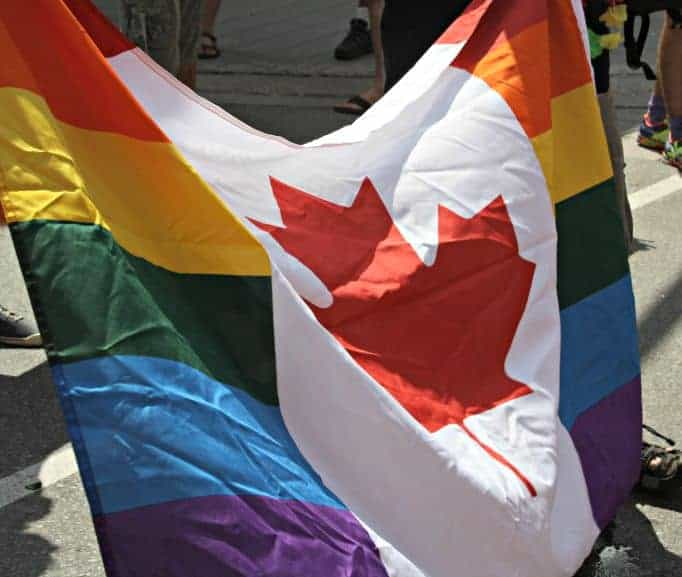 Canadian Pride Flag