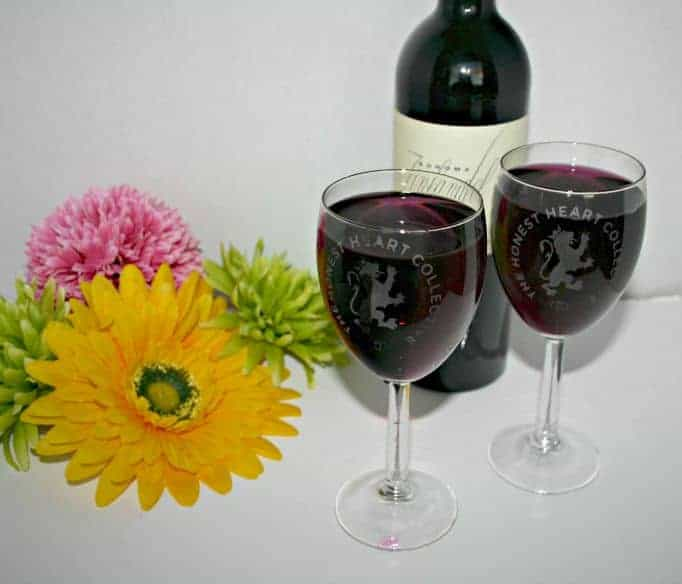 The Honest Heart Collective Wine glasses
