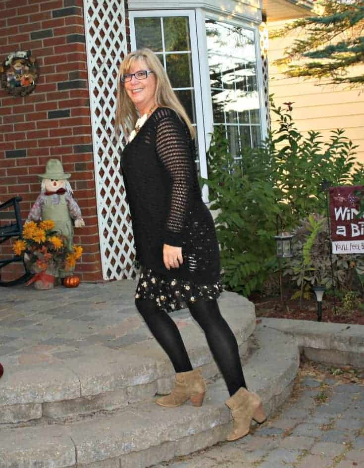 moto jacket and floral chiffon skirt, happiness boutique necklace and rodeo boots