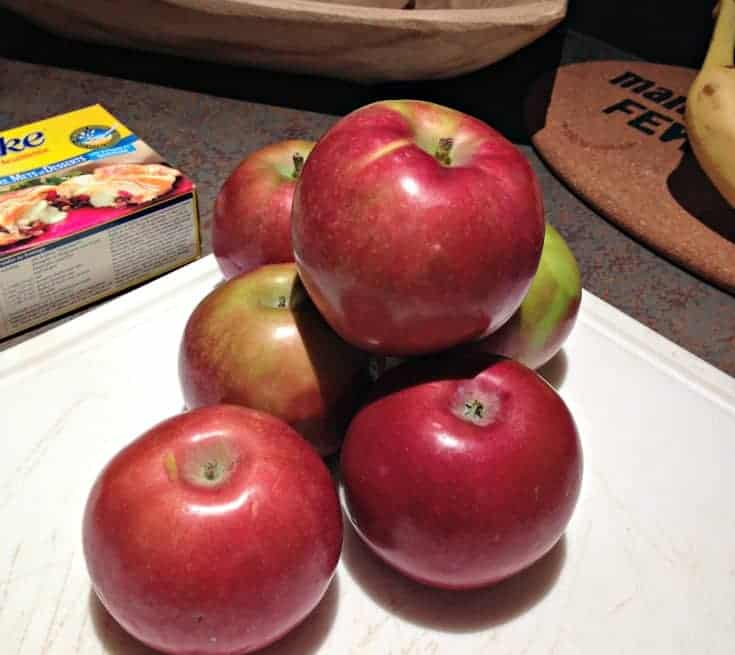 prep time for apple roses