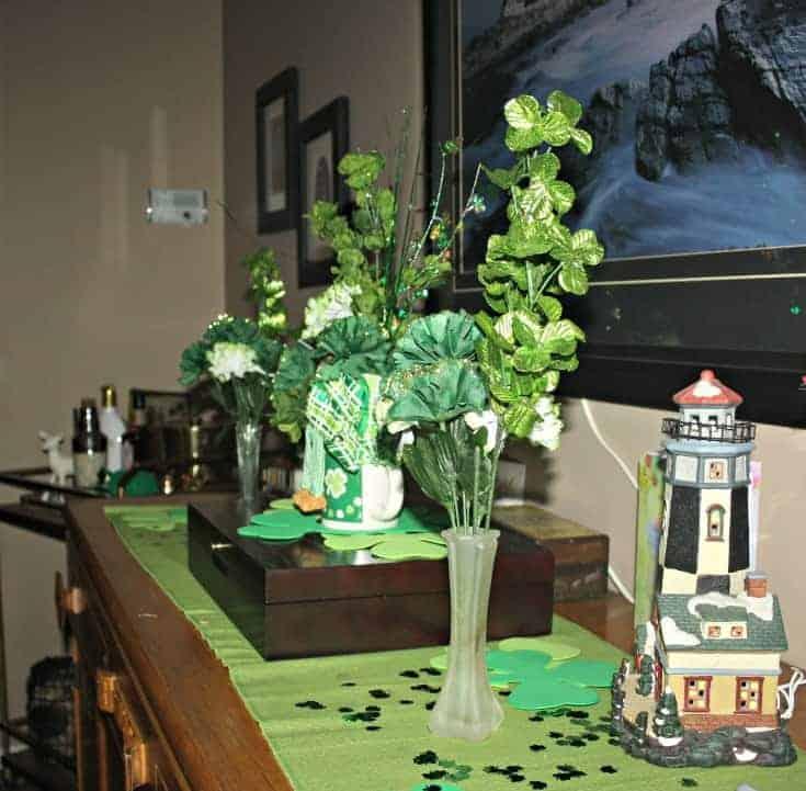 St Patrick's festive buffet 1
