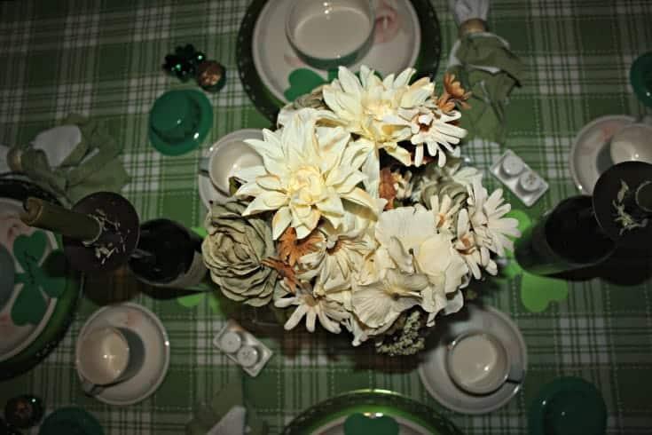 St Patrick's festive tablescape 4