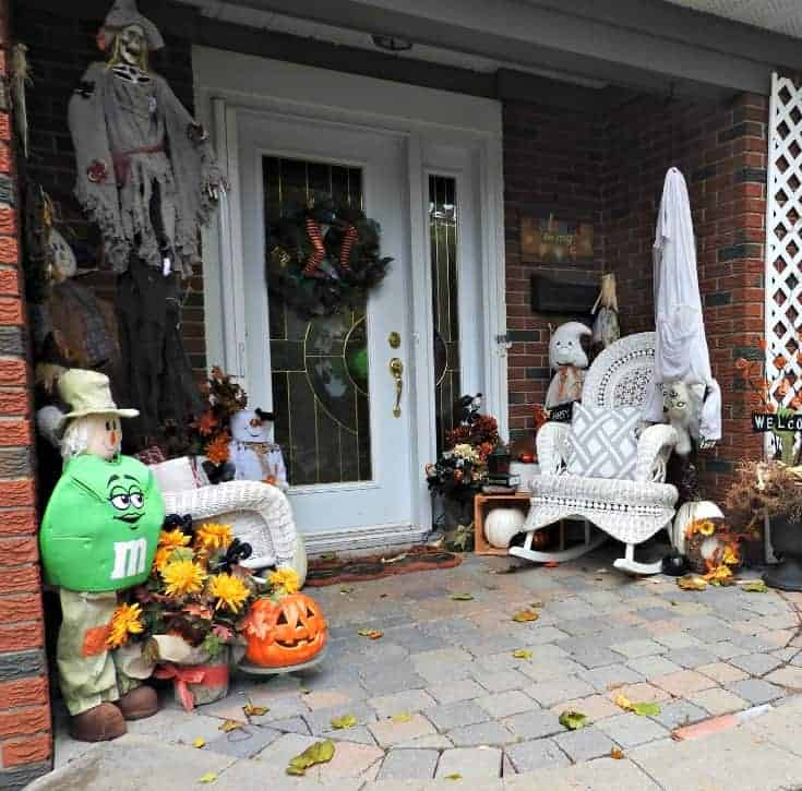 Halloween decorations for the outside