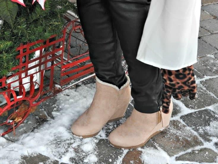 lizdee shoe dazzle wedge boots