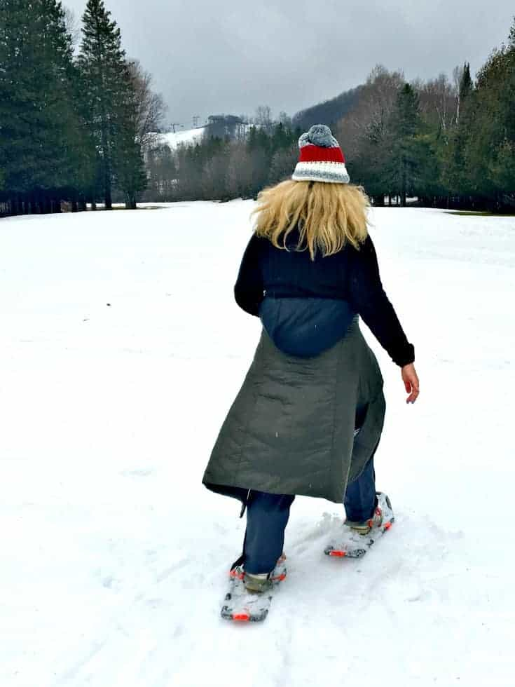 snowshoe at Horseshoe Resort