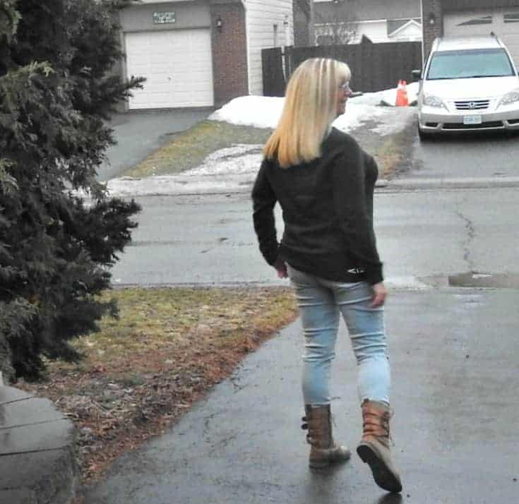 distressed skinnies and boots from Giant Tiger
