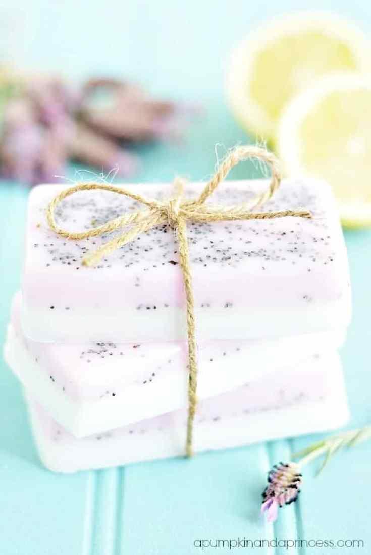 lavendar lemon soap