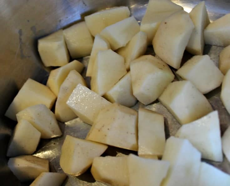potatoes for homemade potato salad