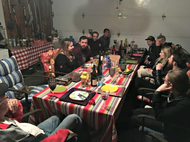 supper with the Honest Heart Collective