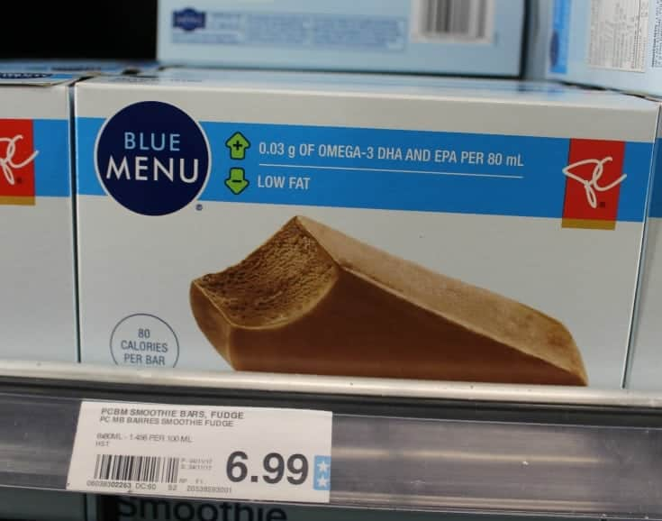 Blue menu loblaws