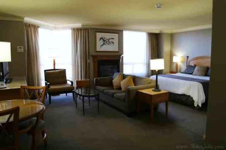 deluxe suite at Casino Rama