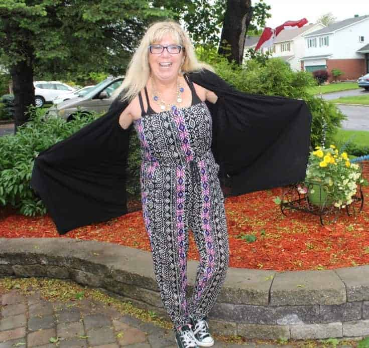 a Social Tribal jumpsuit, lace cardigan and black converse 11