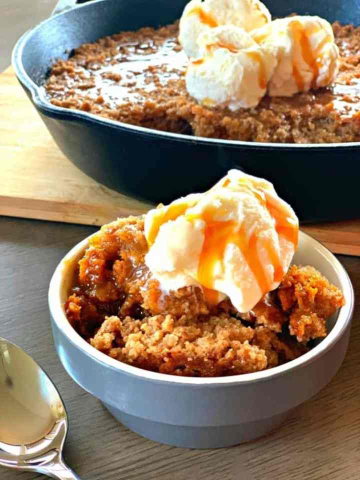 pumpkin pie crisp