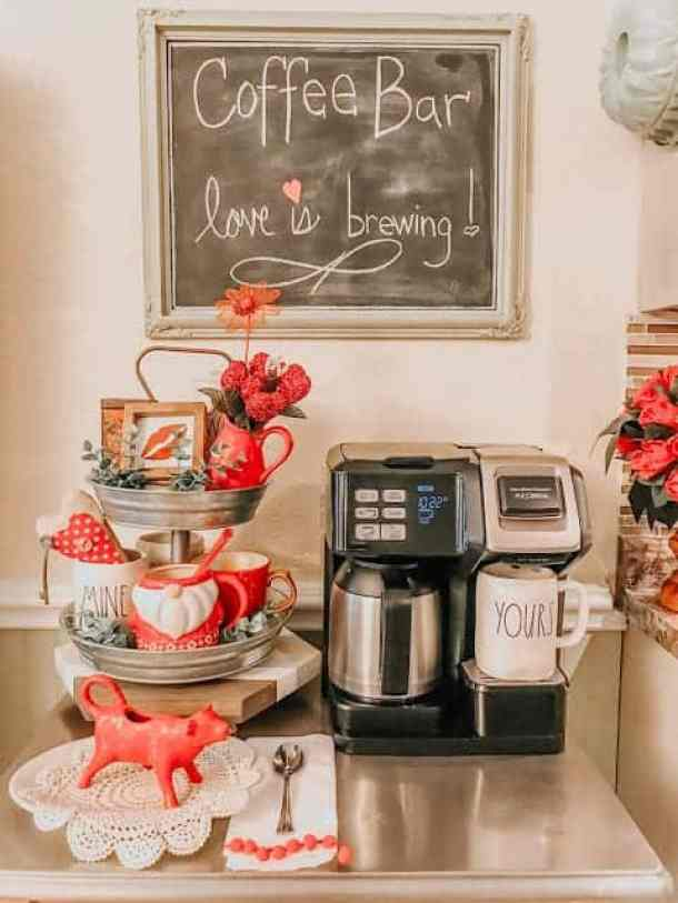 coffee bar for v day