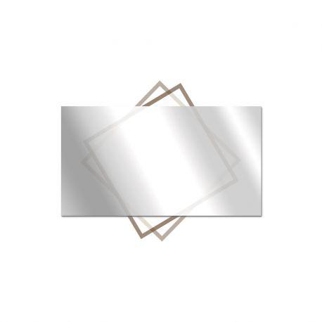 miroir sans tain decoupe sur mesure ecran ordinateur voir sans etre vue