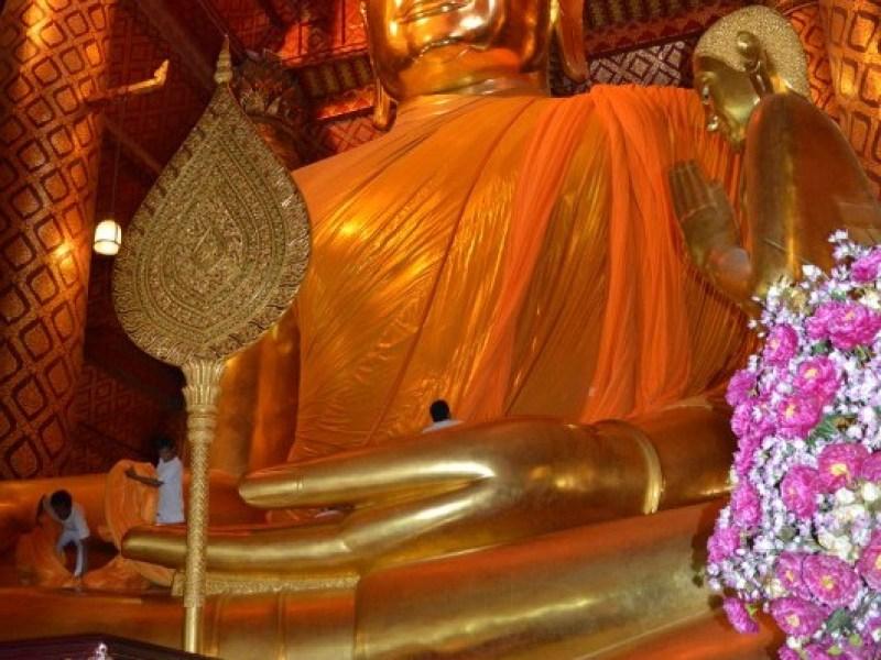 Ayutthaya - Wat Phanan Choeng