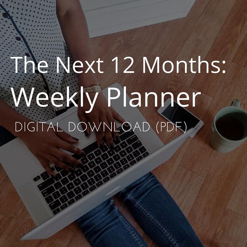 The Next 12 Months Planner Digital Pdf