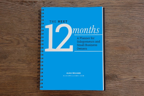 The Next 12 Months Weekly Planner Cover Shot