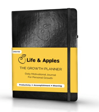 Life&Apple Growth Planner Cover