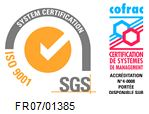 Certification Iso 9001 accréditation Cofrac