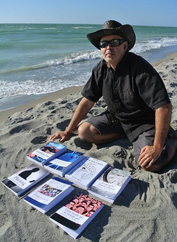 Mes livres récents en format papier... Sous le soleil de la Floride !