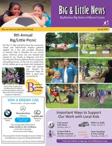 Big Brothers Big Sisters Newsletter Cover