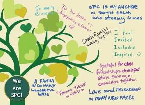 SPC Pledge Dedication Postcard