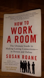 book cover. How to work a room