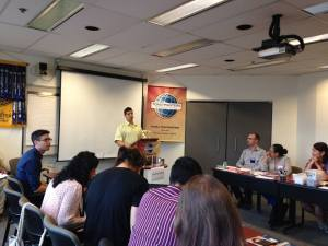 Speaking at Toastmasters