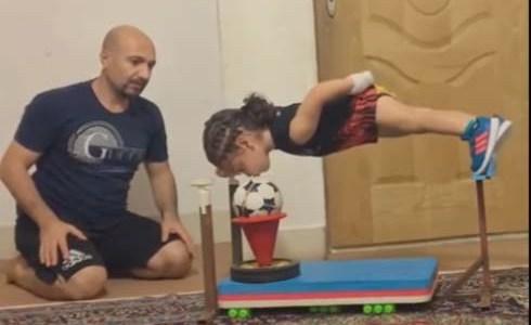 بالفيديو الرياضة ليست للأولاد فقط