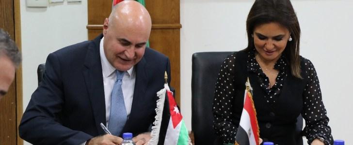 انشاء مجلس تنسيقى للتعاون الاستثمارى بين مصر والأردن