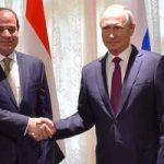 ننشر كلمة الرئيس السيسى بالمؤتمر الصحفى مع نظيره الروسى