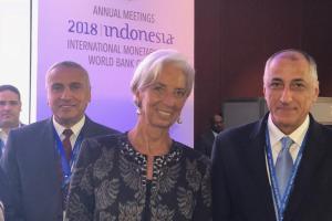 محافظ البنك المركزي : نتطلع لتعزيز التعاون مع صندوق النقد الدولى