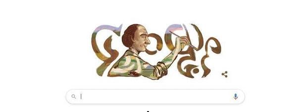 جوجل يحتفي بالذكرى التسعون للرسام محمد خدة