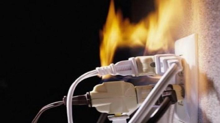 حرائق الماس الكهربائي في الشقق السكنية