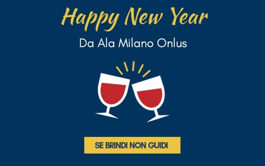 Happy new year da ALA Milano Onlus