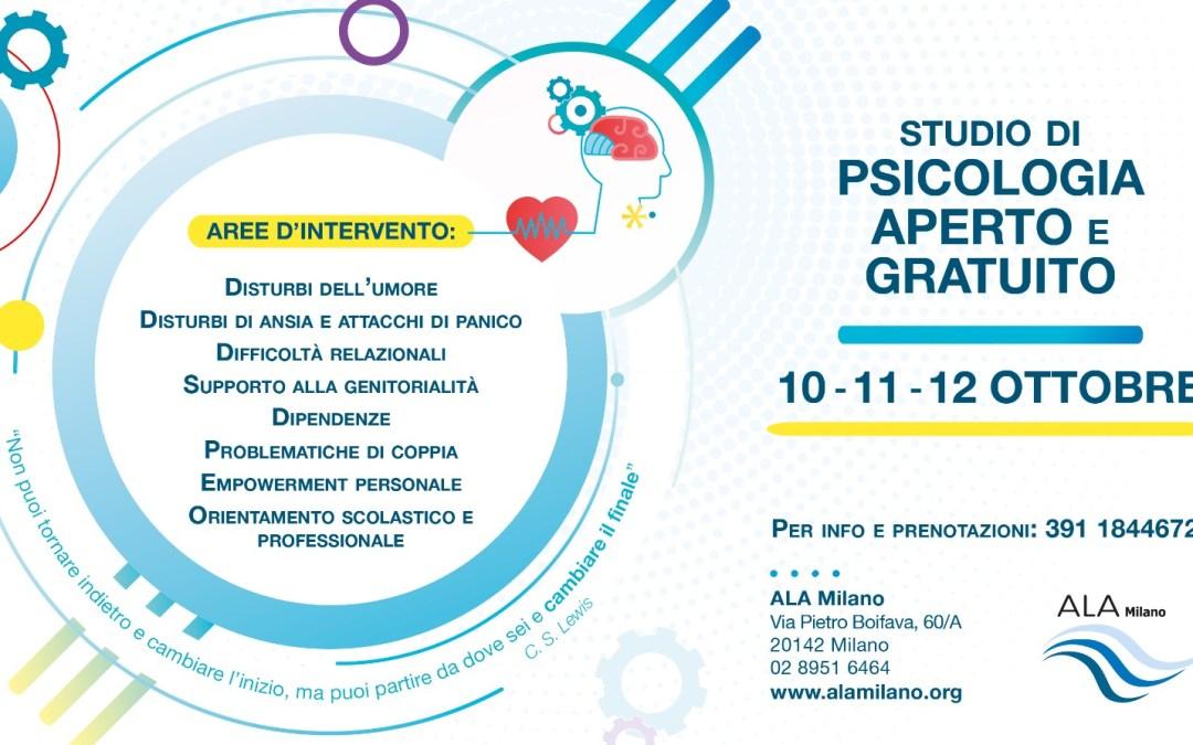 Giornata Nazionale della Psicologia – Studi aperti