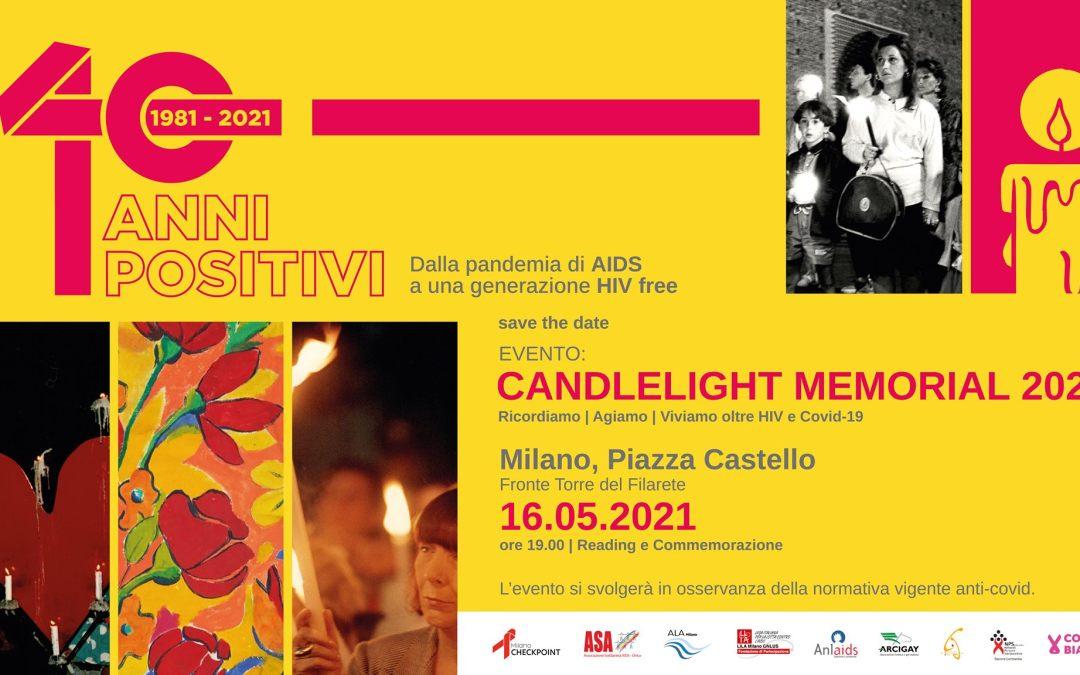Candlelight Memorial 2021 – XXXVIII edizione