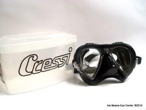 Cressi Mask with prescription lenses
