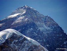 Everest summit on May 13 from Pumori