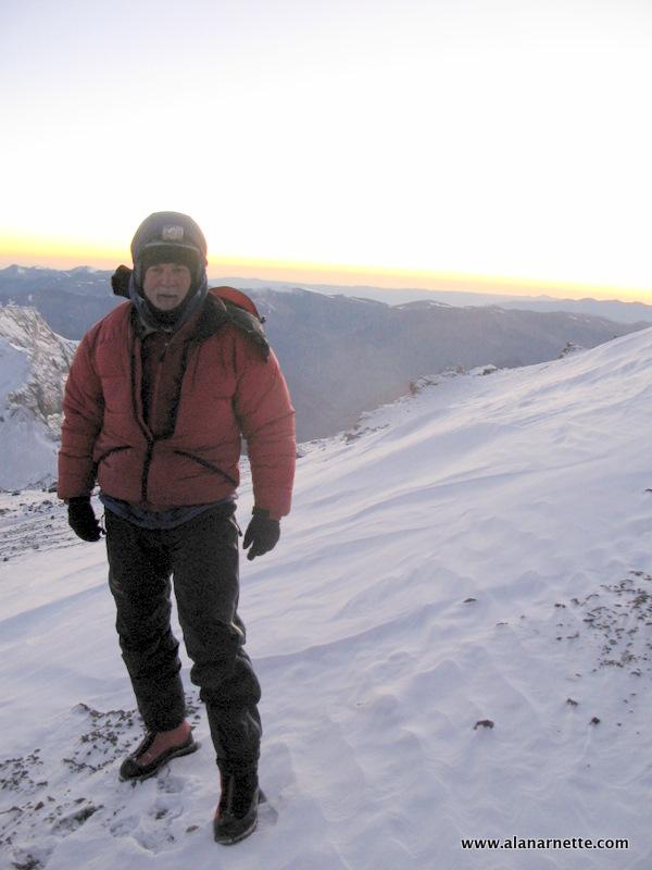 Alan on Aconcagua