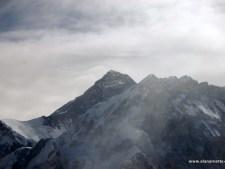 Everest from Lobuche