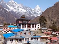 Tengboche Monastery with Ama Dablam