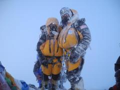 Leanna and Mark Shuttleworth, South (Alpine Ascents)