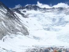 2012 Lhotse Face and Camp 2 courtesy of Cian O'Brolchain