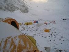 Everest Camp 2 Snow