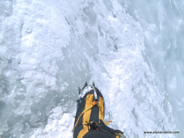 Icy Lhotse Face