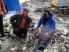 Manaslu 2013 - Leaving for the Summit