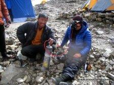 Manaslu 2013 - Leaving for the Summit